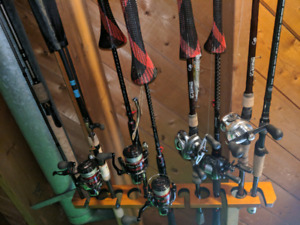 G loomis shimano rods ans reels for sale