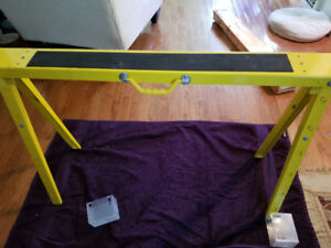 HEAVY DUTY FOLDING SAWHORSES...2 FOR SALE