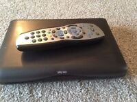 Sky HD mini box and remote
