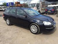 VW GOLF ESTATE 2009 1.9TDI MY S DIESEL - MANUAL - FULL SRC HIST - LONG MOT
