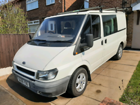 Ford transit mk6 crew van 6 seater/day/leisure van? Low miles