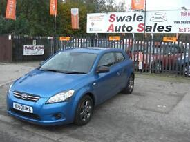 2010 KIA PR CEED STRIKE 1.4L ONLY 25,916 MILES, FULL SERVICE HISTORY, 1 OWNER