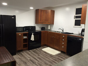 **BRAND NEW** FURNISHED BASEMENT SUITE