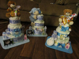 Baby Diaper Cakes and Shower Gifts