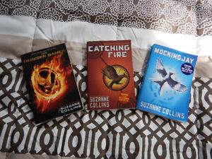 The Hunger Games Complete Book Series English