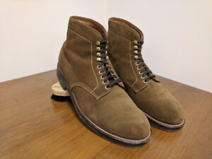 Alden Snuff Suede Boot Size 10 Barrie Last
