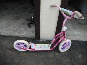 Barbie Scooter Big Wheels and Foot Brake
