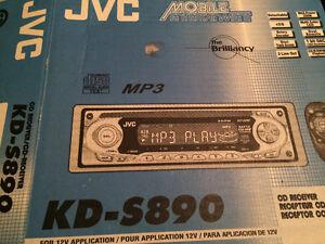 JVC CD/MP3 receiver