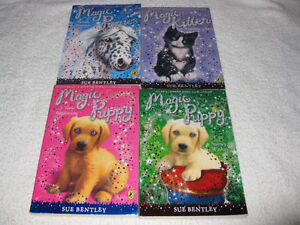 MAGIC ANIMAL CHAPTERBOOKS by SUE BENTLEY - *SPECIAL SALE*