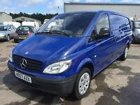 Mercedes-Benz Vito 2.1CDi 111 - Extra Long 111CDI blue manual
