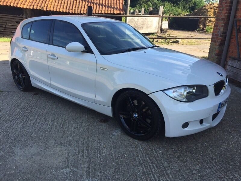 2008 58 bmw 123d m sport hatchback white fsh not 120d 118d in wickford essex gumtree. Black Bedroom Furniture Sets. Home Design Ideas