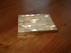 Mid-Century Mother-of-Pearl Cigarette Case
