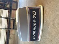 Outboard Motor Cowls 70 HP Evinrude