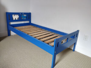 Ikea Kritter Junior slatted bed with mattress