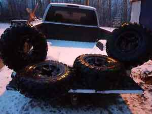 2013 Can Am Renegade Quad Rims and Tires Strathcona County Edmonton Area image 1
