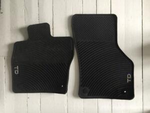 VW Jetta Wagon TDI Monster Floor Mat Set Black