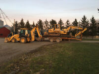 Excavating, Dozing and Backhoe Services
