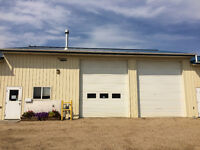 2 BAY SHOP WITH OFFICE IN SYLVAN LAKE