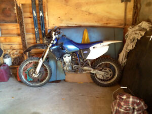 1999 Yamaha WR 400 Dirt Bike