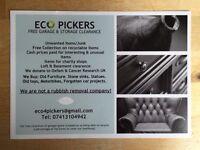 Eco Pickers, Free Garage & Storage Clearance