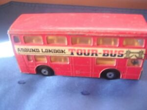 "Matchbox ""Super Kings"" Double Decker Tour Bus - Made in 1972 Kingston Kingston Area image 2"