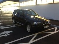 2006 55reg BMW X3 2.0d Sport Black Top Spec Private Plate