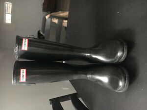 Size 8 WIDE CALF hunter boots! - $100