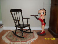 CHILDS ANTIQUE ROCKING CHAIR ** WAS $80 **