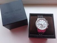 Ladies Michael Kors MK5020 Silver Watch