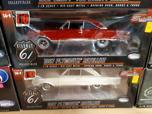 Highway 61 1967 Plymouth Satellite 1:18 diecast
