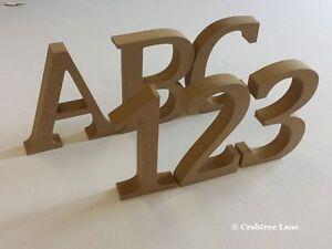 lettere in legno mdf : Lettere alfabeto e numeri in legno MDF grandi - per decoupage idea ...
