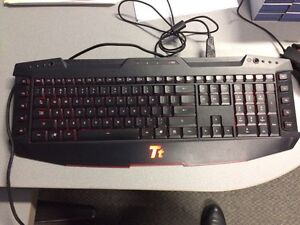 Ttesports Gaming keyboard and mouse