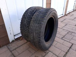 2 winter tires (185/65R14)---50$