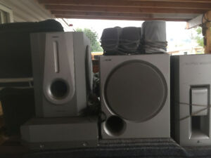 Stereo and speakers.