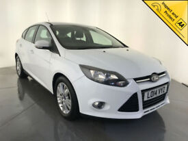 2014 FORD FOCUS TITANIUM NAVIGATOR TDCI 1 OWNER FORD SERVICE HISTORY FINANCE PX