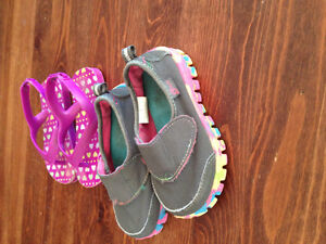 Size 3 girl's clothing/footwear lot