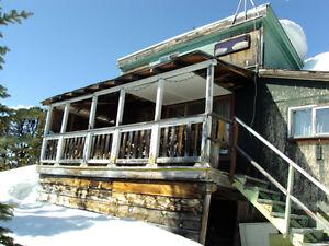 Smithers BC Ski Cabin Hudson Bay Mt