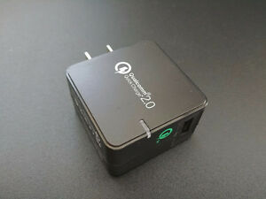 Phone Quick Charge Adapter - Qualcomm 2.0 Certified