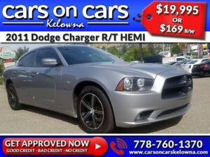 2011 Dodge Charger R/T HEMI w/Leather, Sunroof, Navi, BlueTooth