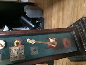 CD rack -Beatles,Elvis,Leadbelly