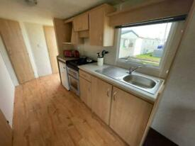 12FT WIDE STATIC CARAVAN FOR SALE, NORTH WALES COAST, BEACH ACCESS