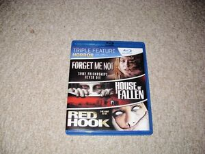 3 IN 1 HORROR BLURAY FOR SALE!