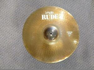 "Paiste Rude Power Ride Cymbal 20"" - used-usagée"