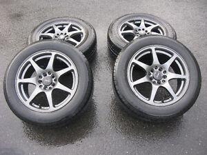 mags Fast Wheels Seven 16''x7'' trous universelles 205 60 16 été