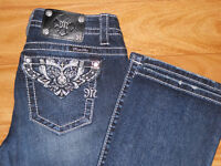 Miss Me Bootcut jeans size 27 x 34