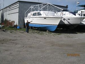 Winterizing Boat-'Frame'-Shrink Wrap/Tarp