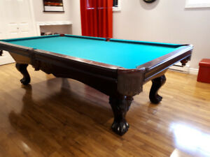 Table de billard - pool