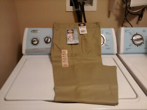 Women's Dickies Beige Work Pants - Size 12 - New with Tags