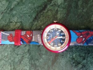 SPIDERMAN SWATCH WATCH West Island Greater Montréal image 2