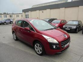 2010 Peugeot 3008 Crossover 1.6HDi ( 110bhp ) FAP 6sp Sport Finance Available